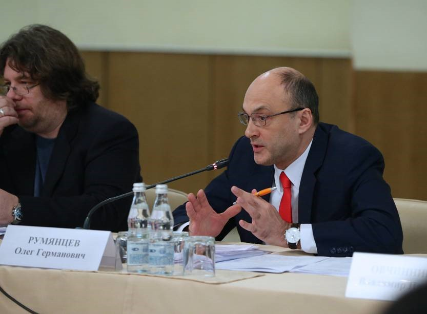 On 20 March, 2015 Oleg Rumyantsev spoke at the meeting of Council on Culture under the Chairman of the State Duma